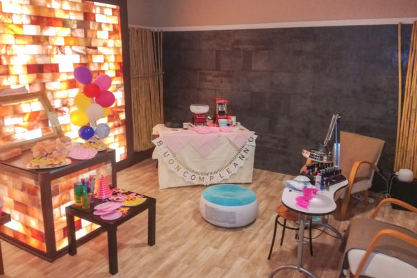 baby party spa